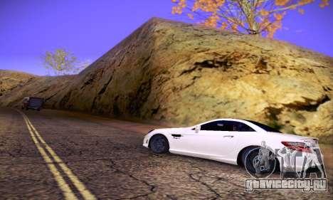 Mercedes Benz SLK55 AMG 2011 для GTA San Andreas салон