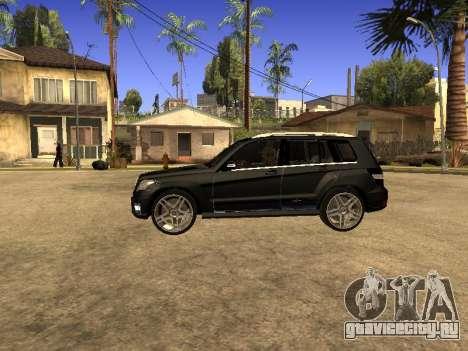 Mercedes-Benz GLK для GTA San Andreas вид сзади