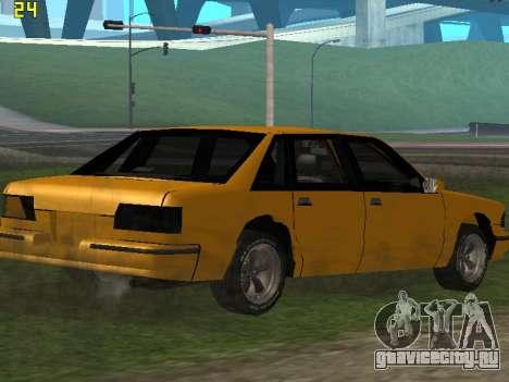 Premier 2012 для GTA San Andreas вид сбоку