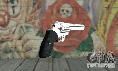 Chrome Desert Eagle для GTA San Andreas второй скриншот
