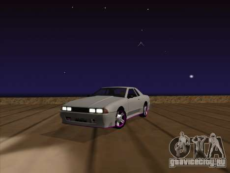 Elegy by MegaPixel для GTA San Andreas вид сзади