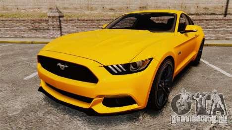 Ford Mustang GT 2015 v2.0 для GTA 4