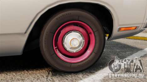 Dodge Polara 1971 для GTA 4 вид сзади