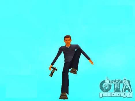 Peter Parker из игры Spider-Man 2 для GTA San Andreas второй скриншот