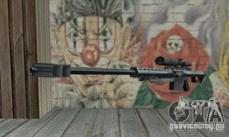 M82A1 Barret .50cal для GTA San Andreas