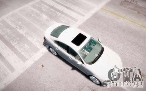 Jaguar XF-R 2012 v1.2 для GTA 4