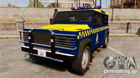 Land Rover Defender HM Coastguard [ELS] для GTA 4
