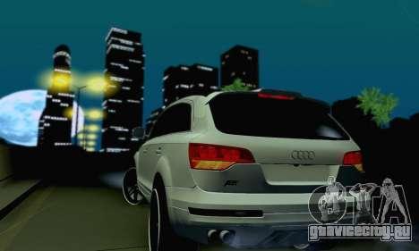 Audi Q7 для GTA San Andreas вид сбоку