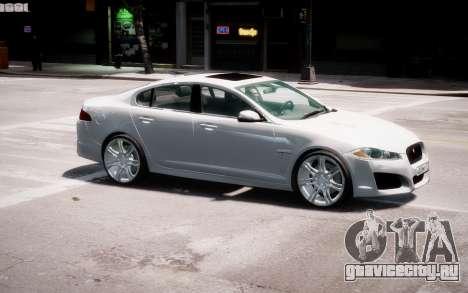 Jaguar XF-R 2012 v1.2 для GTA 4 салон