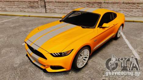 Ford Mustang GT 2015 v2.0 для GTA 4 вид сбоку