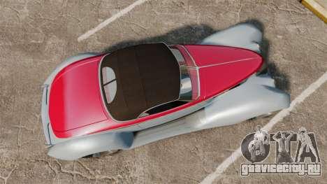Ford Roadster 1936 Chip Foose 2006 для GTA 4 вид справа