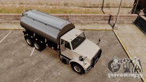 Benson Heavy для GTA 4 вид сзади