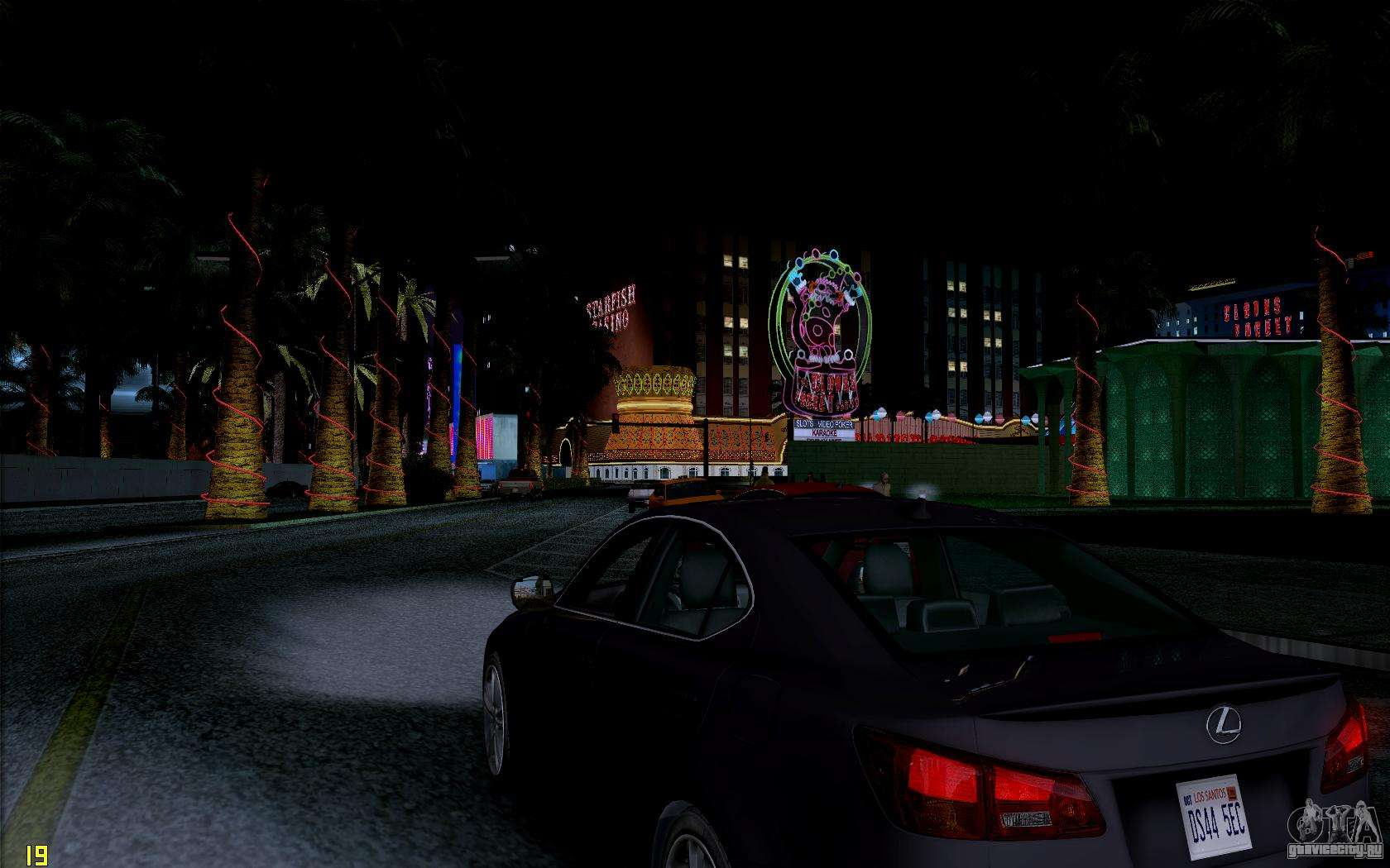 ENB HD CUDA 2014 v1.0 для GTA San Andreas четвёртый скриншот.