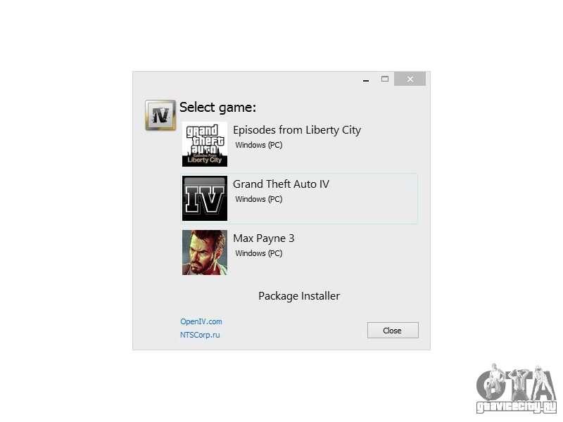 Openiv для GTA 4 скачать