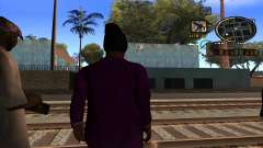C-HUD Газетный для GTA San Andreas