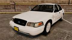 Ford Crown Victoria Traffic Enforcement [ELS] для GTA 4