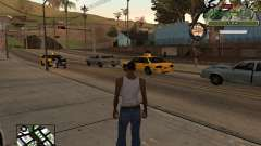 C-Hud Army by Enrique Rueda для GTA San Andreas