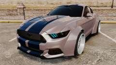 Ford Mustang 2015 Rocket Bunny TKF v2.0 для GTA 4