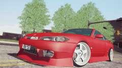 Nissan Silvia S15 BN Sports для GTA San Andreas