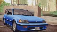Honda Civic S 1986 IVF для GTA San Andreas