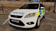 Ford Focus Estate Essex Police [ELS] для GTA 4
