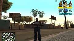 Vagos C-Hud для GTA San Andreas