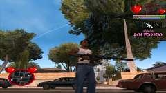 C-HUD Ministry Of Health для GTA San Andreas