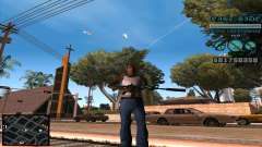 C-HUD Lane Gangsters для GTA San Andreas