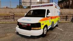 GMC Savana 2005 Ambulance [ELS]