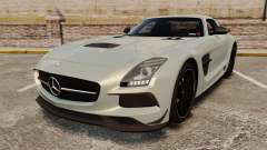 Mercedes-Benz SLS 2014 AMG Black Series для GTA 4