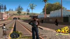 C-HUD Vagos by HARDy для GTA San Andreas