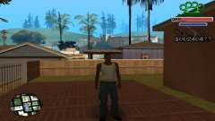 C-HUD Gangster by NickQuest для GTA San Andreas