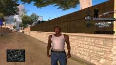 C-HUD Russian Mafia by Luigie для GTA San Andreas