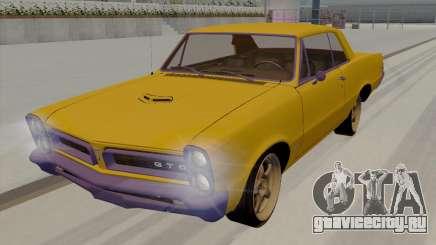 Pontiac GTO 1965 хардтоп для GTA San Andreas