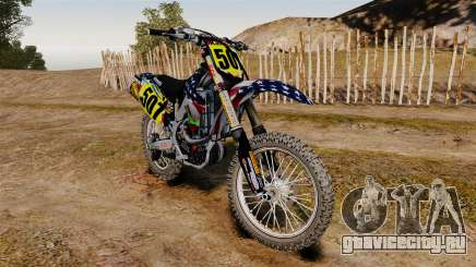 Kawasaki KX250F USA для GTA 4