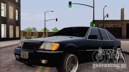 Mercedes-Benz S500 w140 для GTA San Andreas