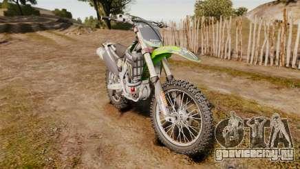 Kawasaki KX250F Monster Energy для GTA 4