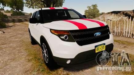 Ford Explorer Sport 2014 для GTA 4