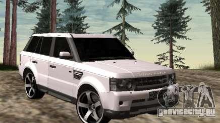 Range Rover Sport 2011 для GTA San Andreas