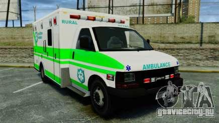 Brute Rural Metro EMS [ELS] для GTA 4