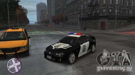 Holden Monaro CV8-R Police для GTA 4