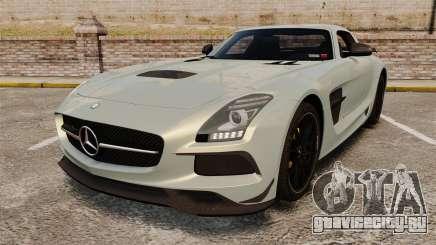 Mercedes-Benz SLS 2014 AMG Black Series для GTA 4