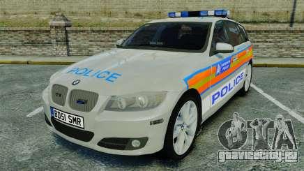 BMW 330i Touring Metropolitan Police [ELS] для GTA 4