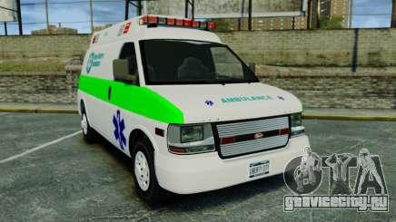 Vapid Speedo Rural Metro EMS [ELS] для GTA 4