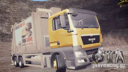 MAN TGS 18.320 Trash Truck для GTA San Andreas