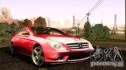 Mercedes-Benz CLS 63 AMG 2008 для GTA San Andreas
