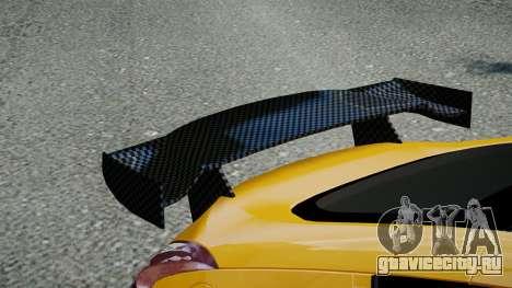Nissan 370Z 2009 для GTA 4 вид сзади