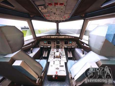 Airbus A320 Cebu Pacific Air для GTA San Andreas двигатель