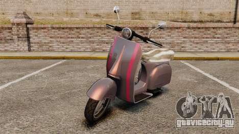 GTA V Pegassi Faggio для GTA 4