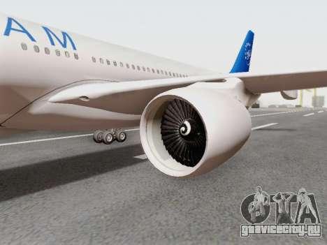 A330-202 China Eastern для GTA San Andreas вид справа